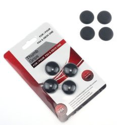 Silicone Gel Controller Black Skull Thumb Grips