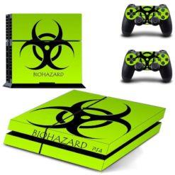 PlayStation 4 Vinyl Skin Bio Hazard