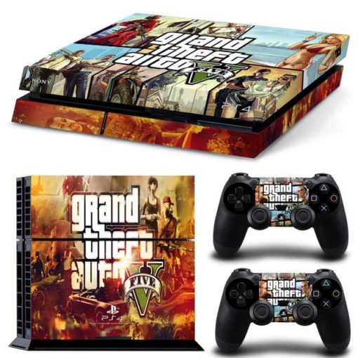 PlayStation 4 Vinyl Skin Grand Theft Auto V