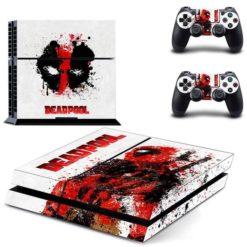 PlayStation 4 Vinyl Skin Deadpool