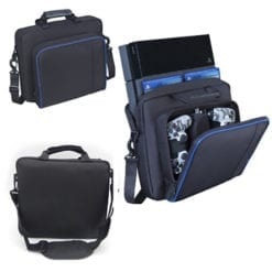 PlayStation 4 PS4 Console Controller Strap Shoulder Carry Storage Bag