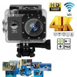 SJ9000 Wifi 4K 2Inch 1080P Ultra HD Waterproof Sport Camera Action DVR Camcorder Black