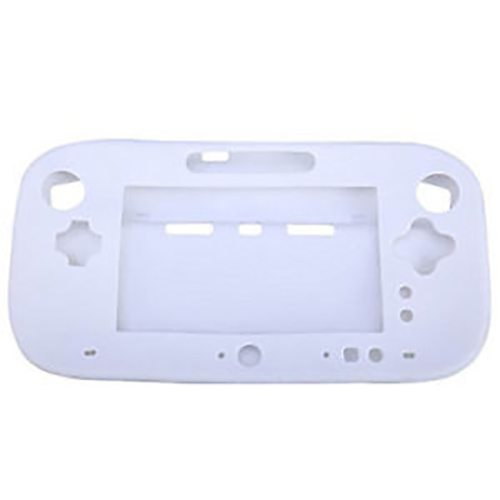 White Silicone Casing Cover For Nintendo Wii Console