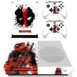 Xbox One S Vinyl Skin Deadpool