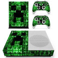 Xbox One S Vinyl Skin Minecraft