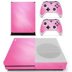 Xbox One S Vinyl Skin Pink