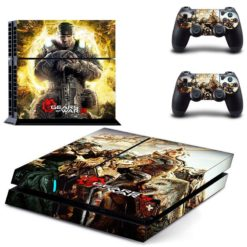 PlayStation 4 Vinyl Skin Gears of War