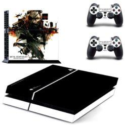Metal Gear Solid PlayStation 4 Vinyl Skin