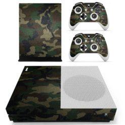 Xbox One S Vinyl Skin Army