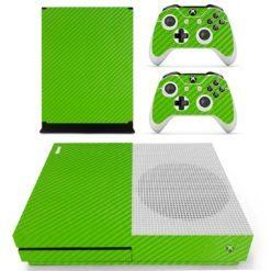 Xbox One S Vinyl Skin Green