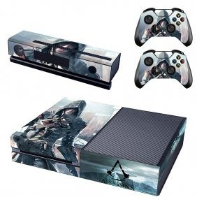 Assassins Creed Xbox One Vinyl Skin Funky Console