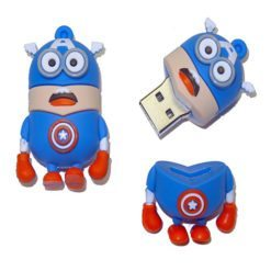 Captain America Minion USB Memory Stick 8GB