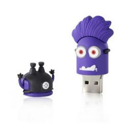 Evil Purple Minion USB memory stick