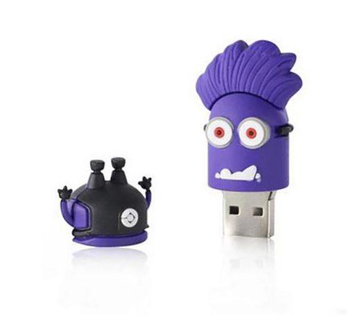 Evil Purple Minion USB memory stick