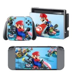 Mario Kart Skin Sticker Decal For Nintendo Switch