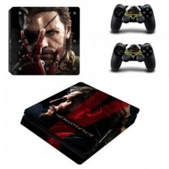 Metal Gear Solid Skin Vinyl Sticker for the PlayStation 4 Slim Console PS4