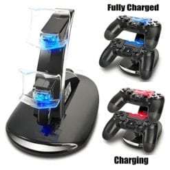 Playstation 4 PS4 Controller Dual USB Station Charging Stand Dock