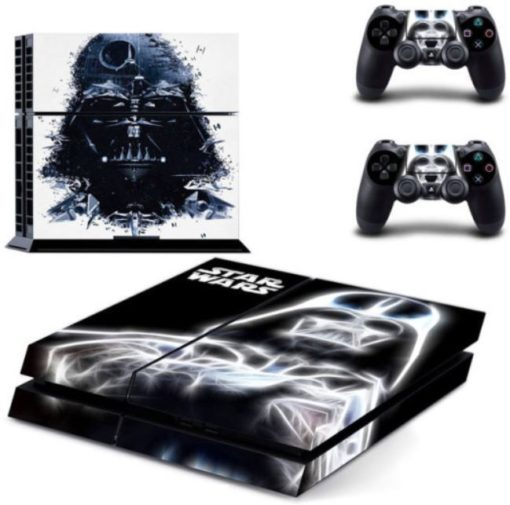 Stars Wars Vadar Skin Vinyl Sticker for the PlayStation 4 Console PS4