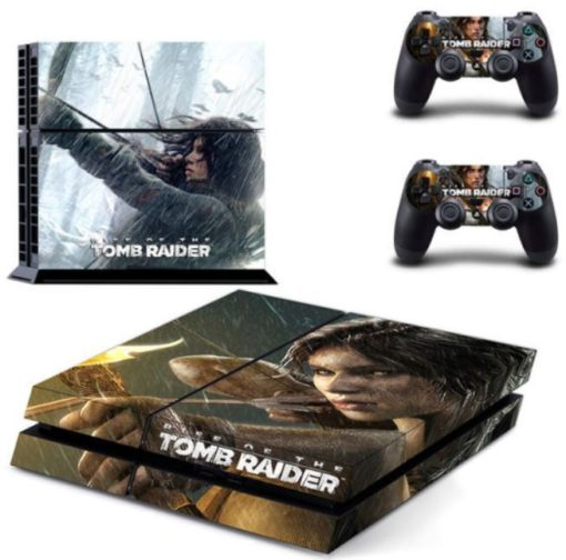 Tomb Raider Skin Vinyl Sticker for the PlayStation 4 Console PS4