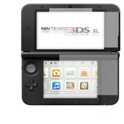 Top and Bottom Screen Protector Guard 3DS XL