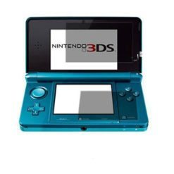Top and Bottom Screen Protector Guard for Nintendo 3DS Console