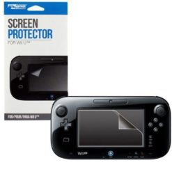 Wii U Gamepad LCD Clear Screen Protector Front Cover Protector