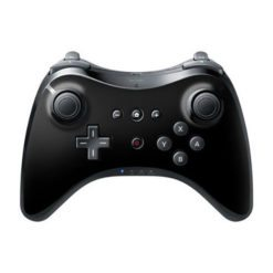 Wireless Remote PRO Controller Gamepad for the Nintendo Wii U Console Black