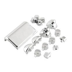 Chrome Button Set for the PS4 Controller