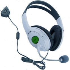 Xbox 360 Headset with Microphone 3.5mm white