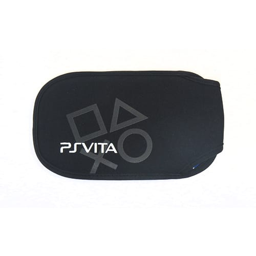 Soft Case Protective Carry Cover Pouch For Sony PS Vita PSV 1000 2000 Black