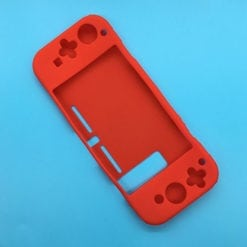Nintendo Switch Rubber Silicone Protective Skins Red