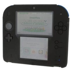 2DS Silicone protective cover Black