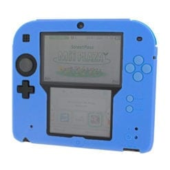 2DS Silicone protective cover Blue
