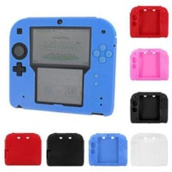 2DS Silicone protective cover colours