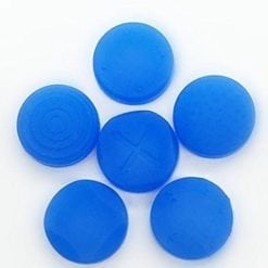 6 x Silicone Thumb Stick Cover Grip Caps For PS Vita 1000 2000 Analog Controller Blue