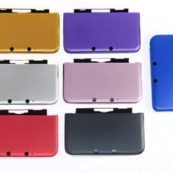 Nintendo 3DS XL Aluminum Metal Protective Hard Shell Case Cover