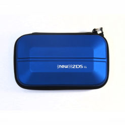 Blue New Nintendo 2DS XL Carbon Hard Protective EVA Case Zip Cover Carry Bag Pouch