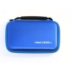 New Nintendo 2DS XL Hard Protective Case Blue