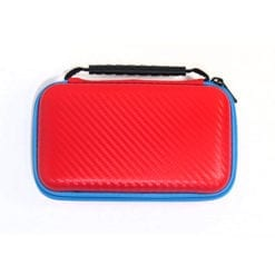 New Nintendo 2DS XL Hard Protective case Red Rear