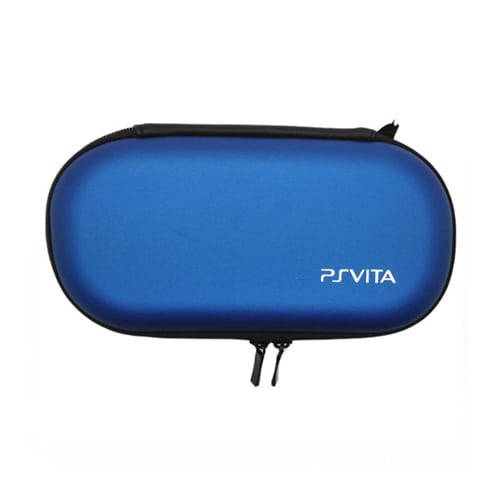 PS Vita Hard Protective Zip Case Blue
