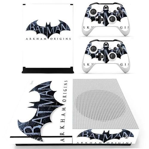 Batman Arkham Origins Skin Vinyl Decal Sticker for the Xbox One S Slim Console