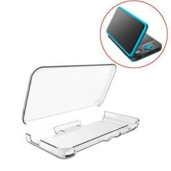 Hard Clear Crystal Guard Case Cover Protector For New Nintendo 2DS XL 1