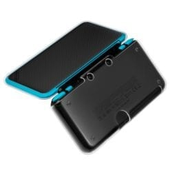 Hard Clear Crystal Guard Case Cover Protector For New Nintendo 2DS XL