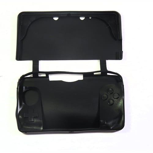 Nintendo 3DS Protective Silicone Rubber Case Blue Black