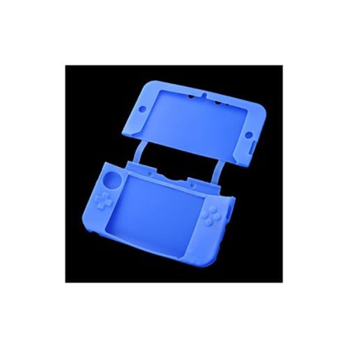 Nintendo 3DS XL Console Protective Silicone Soft Case Cover Blue