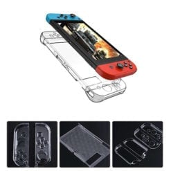 Nintendo Switch Console Joy Con Crystal Protective Case 1