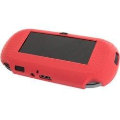 PS Vita 1000 Console Protective Silicone Soft Case Cover Red 1