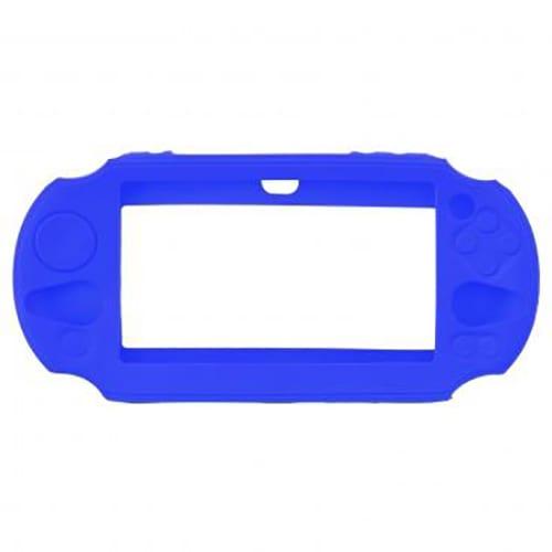 PS Vita 2000 Console Protective Silicone Soft Case Cover Blue 1
