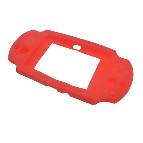 PS Vita 2000 Console Protective Silicone Soft Case Cover Red 1
