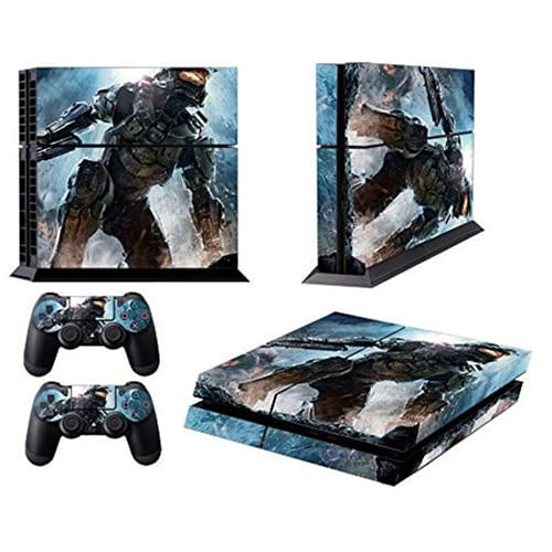 PlayStation 4 PS4 Consiole Halo Sticker Skin